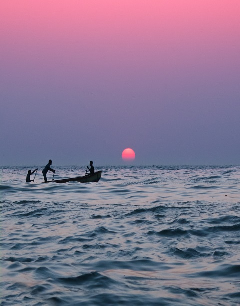 Indian Ocean Fishing Boat