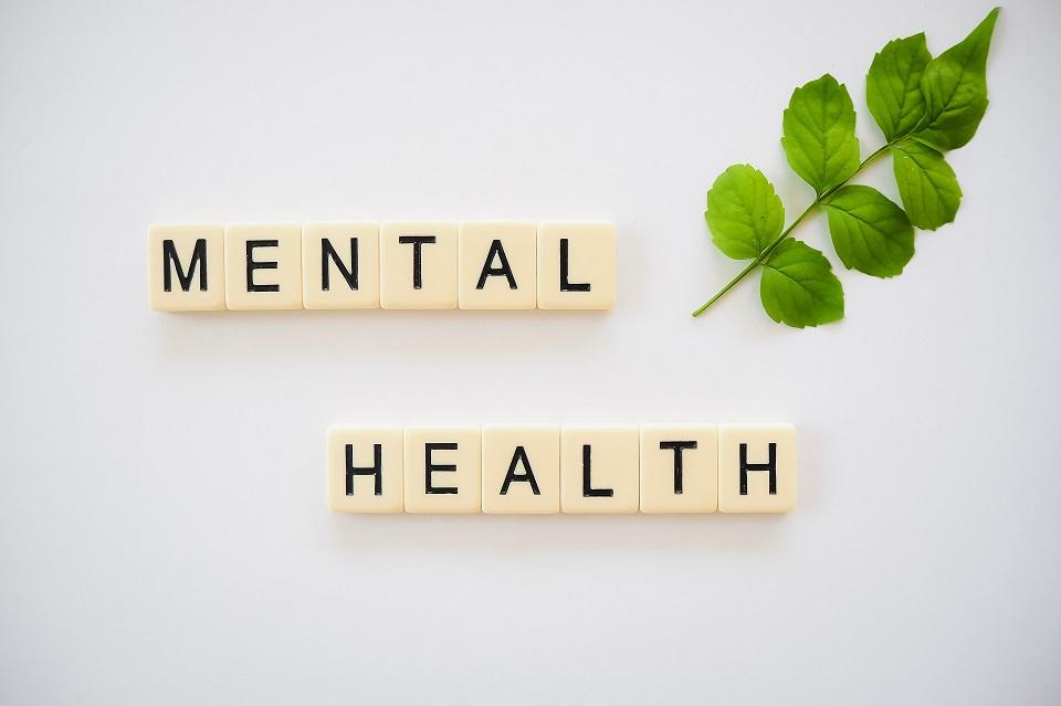 Mental health with leaf